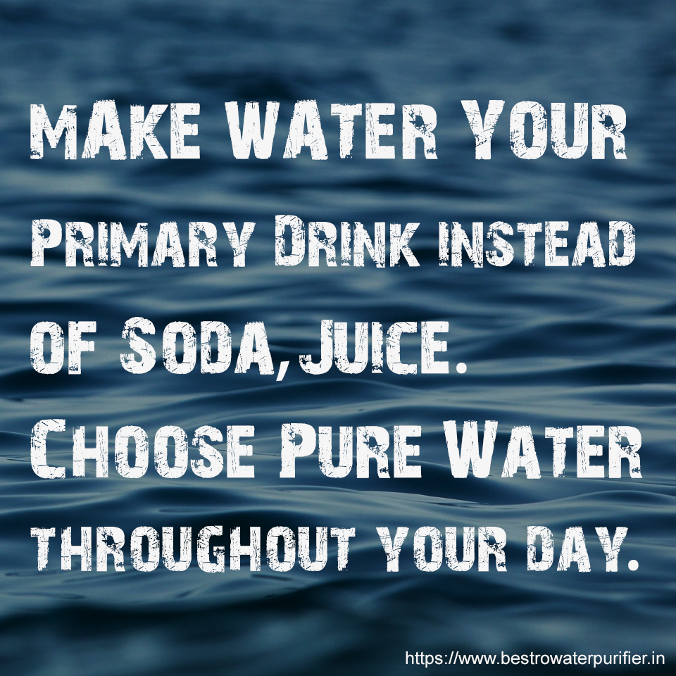 motivational water quote image