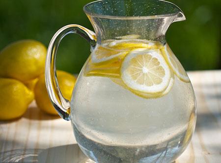 Alkaline Water with Lemon