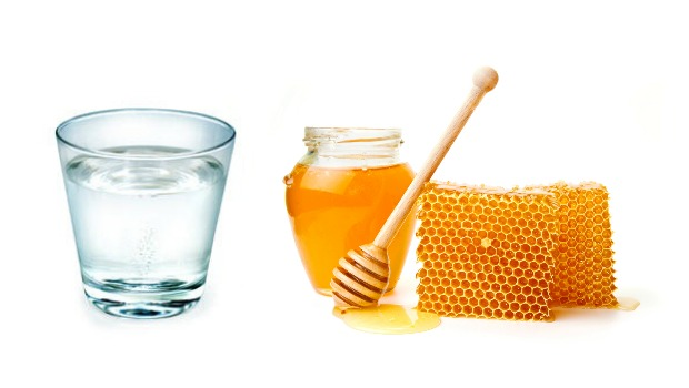 Drink Warm Water with Honey
